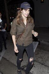 Alexandra Daddario - Leaving Craig