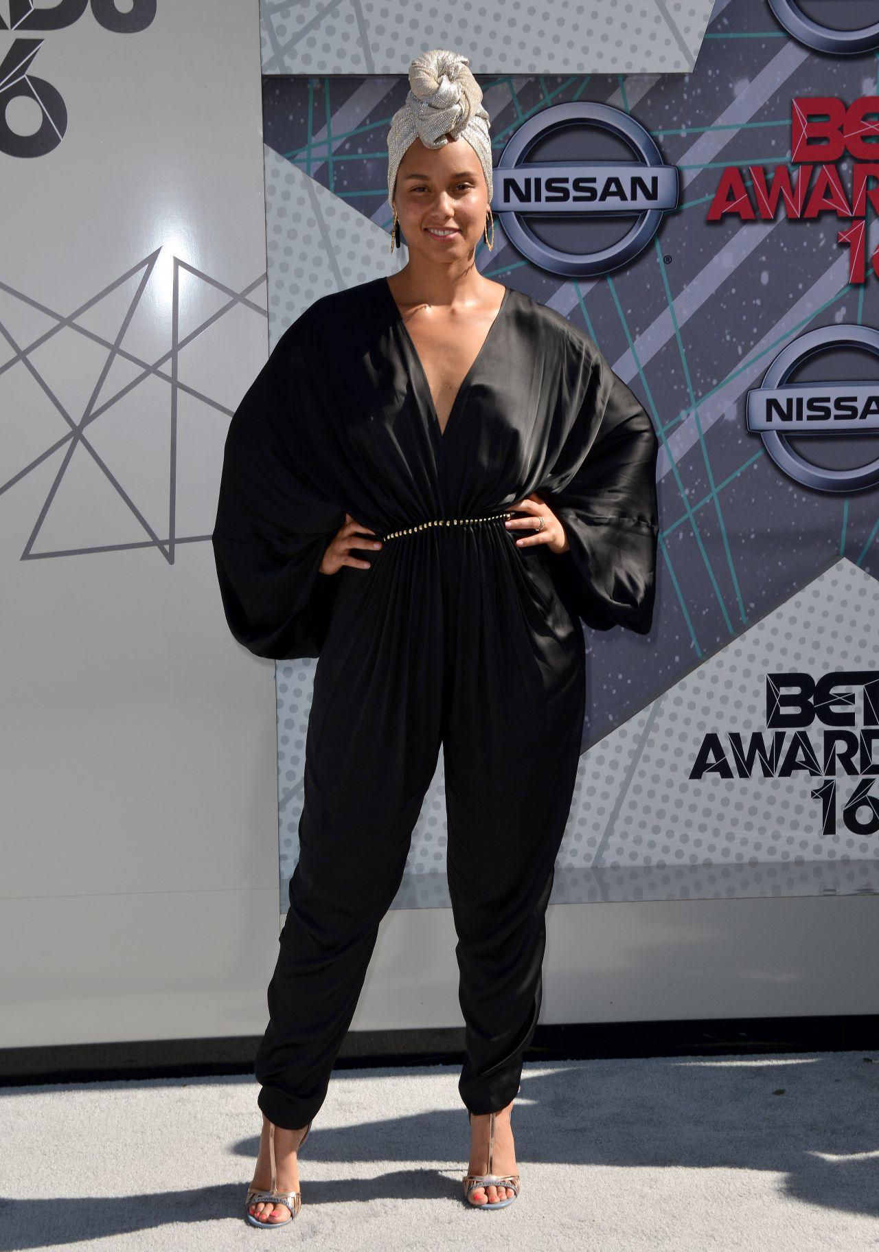 Alicia Keys 2016 Bet Awards In Los Angeles