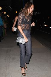 Alicia Vikander Night Out Style - West Hollywood 6/18/2016