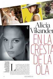 Alicia Vikander - Vanidades Magazine Mexico June 2016 Issue