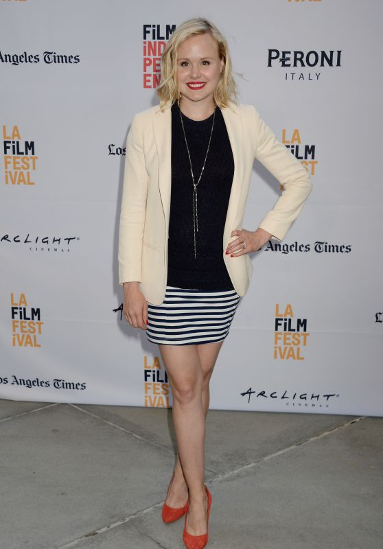 Alison Pill – 'Paint It Black' Premiere in Los Angeles 6/3/2016