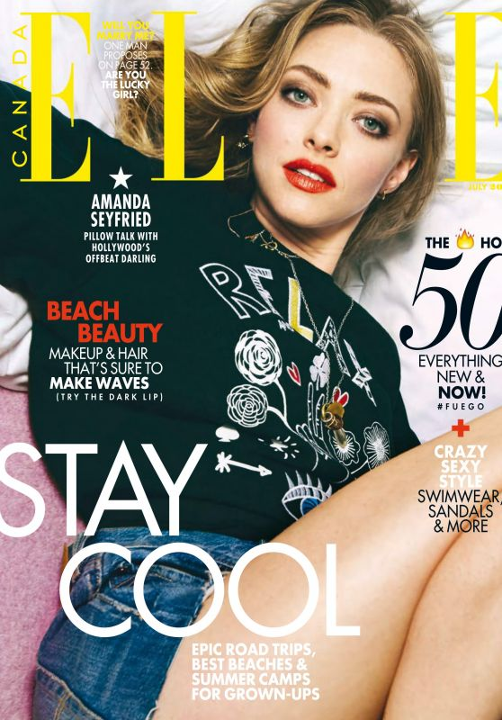 Amanda Seyfried - Elle Magazine Canada July 2016 Issue