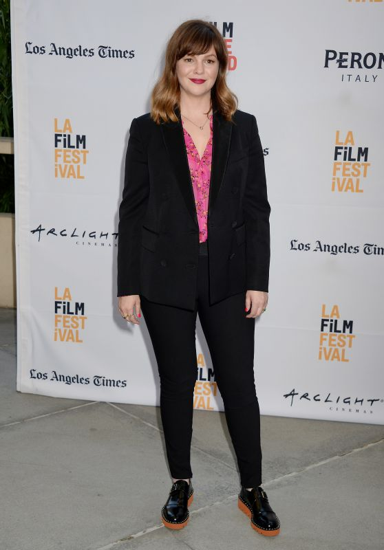 Amber Tamblyn – 'Paint It Black' Premiere in Los Angeles 6/3/2016