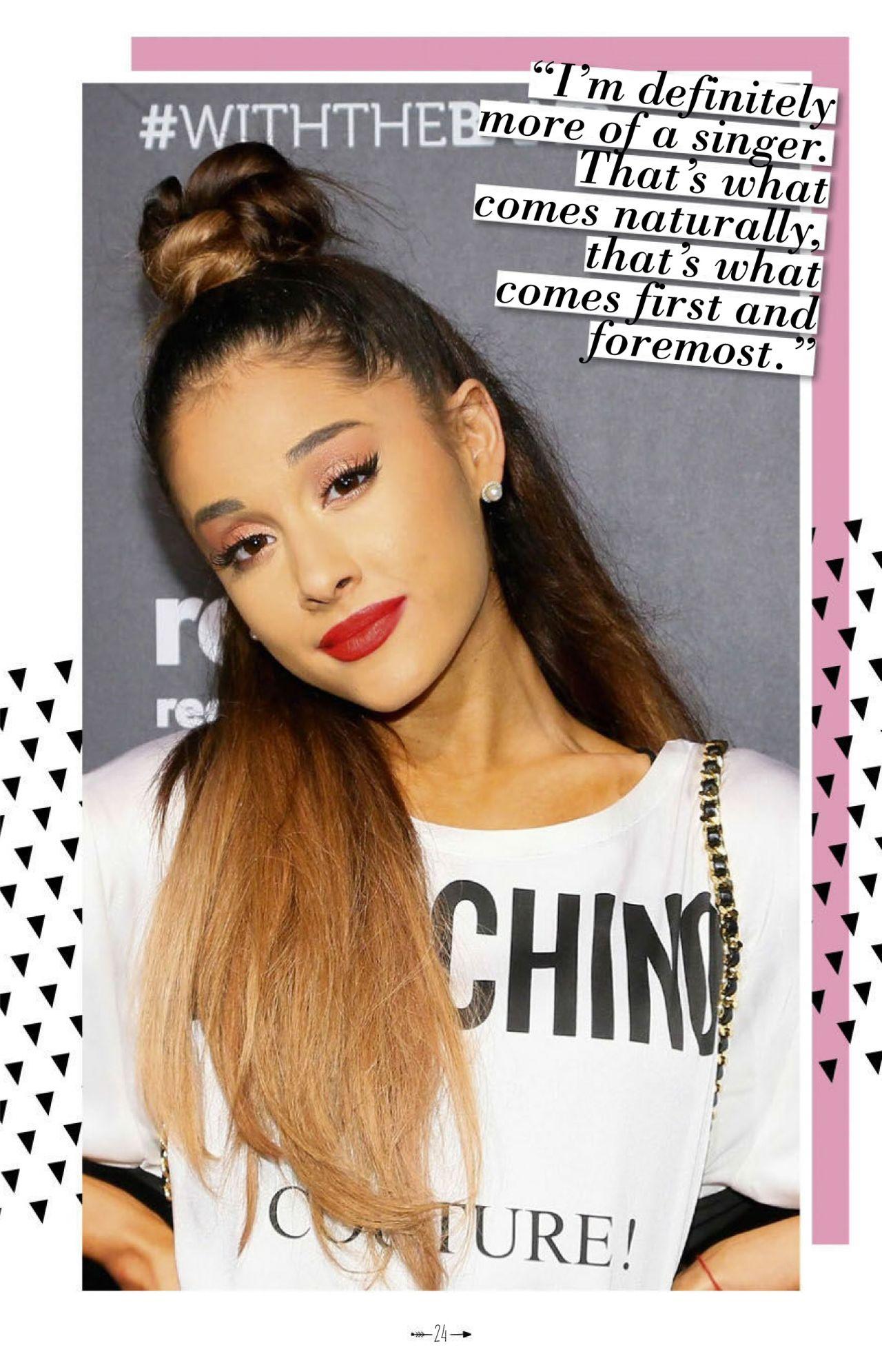 Ariana Grande Girl Power Magazine July 2016 Issue