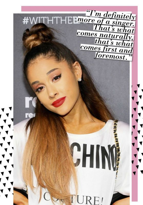 Ariana Grande - Girl Power Magazine July 2016 Issue