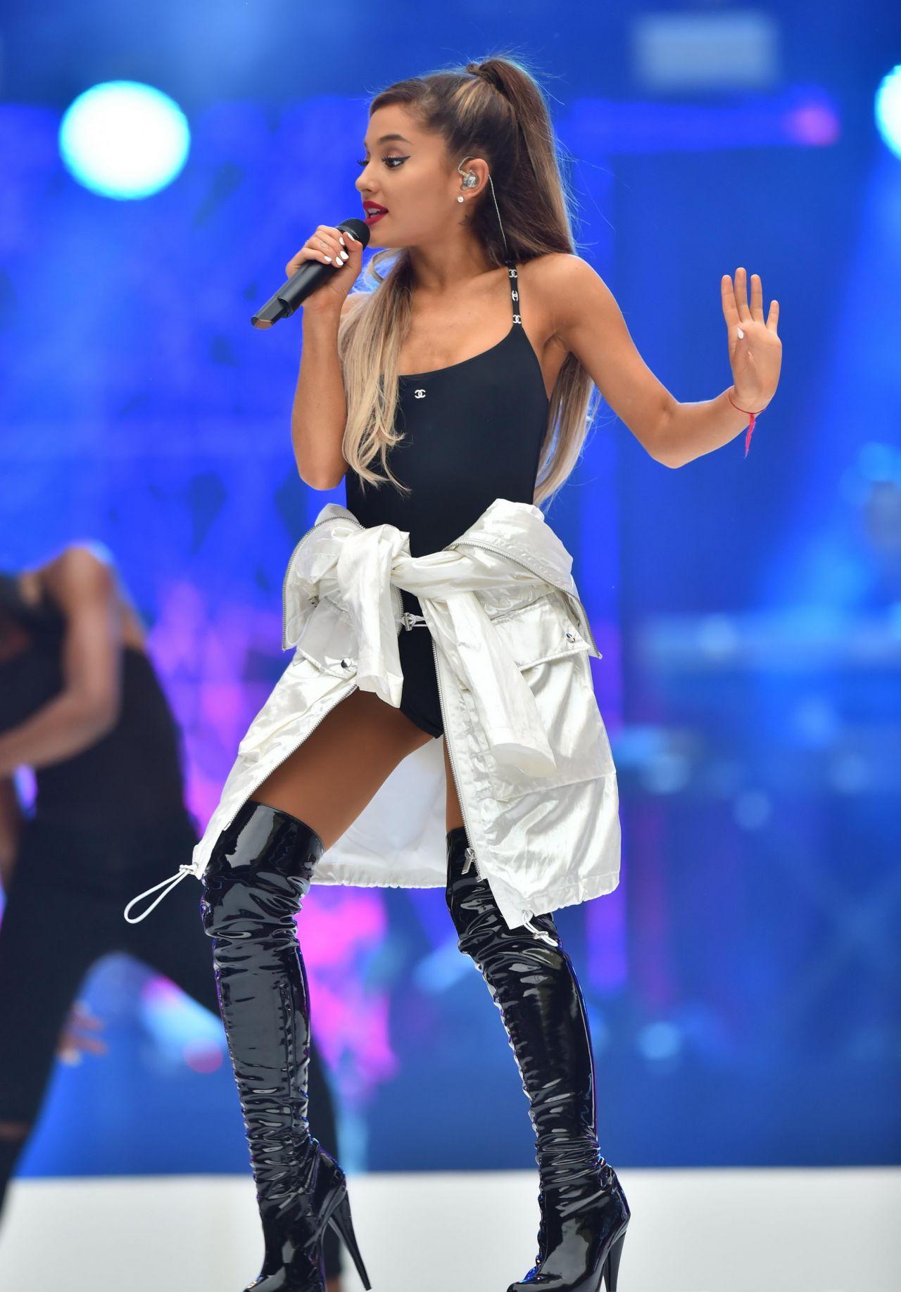 Ariana Grande - Performing at Capital FMs Summertime Ball