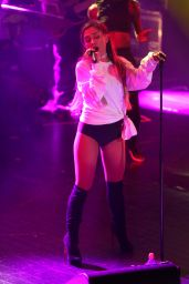 Ariana Grande Performs at HP Lounge Party at Trianon in Paris, 6/8/2016