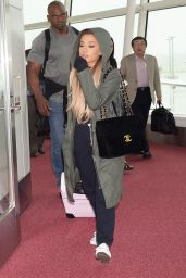 Ariana Grande Travel Outfit - at Haneda Airport in Tokyo 6/13/2016