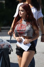 Ariel Winter in Cut Off Shorts -