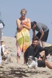 Ashley Benson & Vanessa Hudgens - Beach in Malibu 6/5/2016