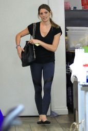 Ashley Greene at a Nail Salon in Los Angeles 6/15/2016