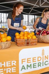 Ashley Greene - Feeding America & LA Regional Food Bank Team Up For
