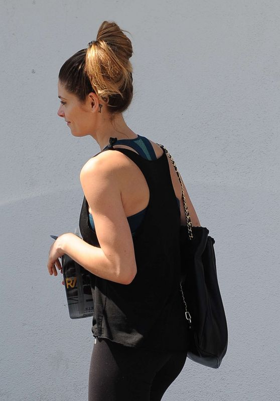 Ashley Greene - Going to the Gym in Los Angeles, CA 6/17/2016
