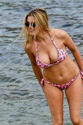 Ashley James Hot in Bikini - Having Fun on the Beach in Mykonos, Greece 6/6/2016