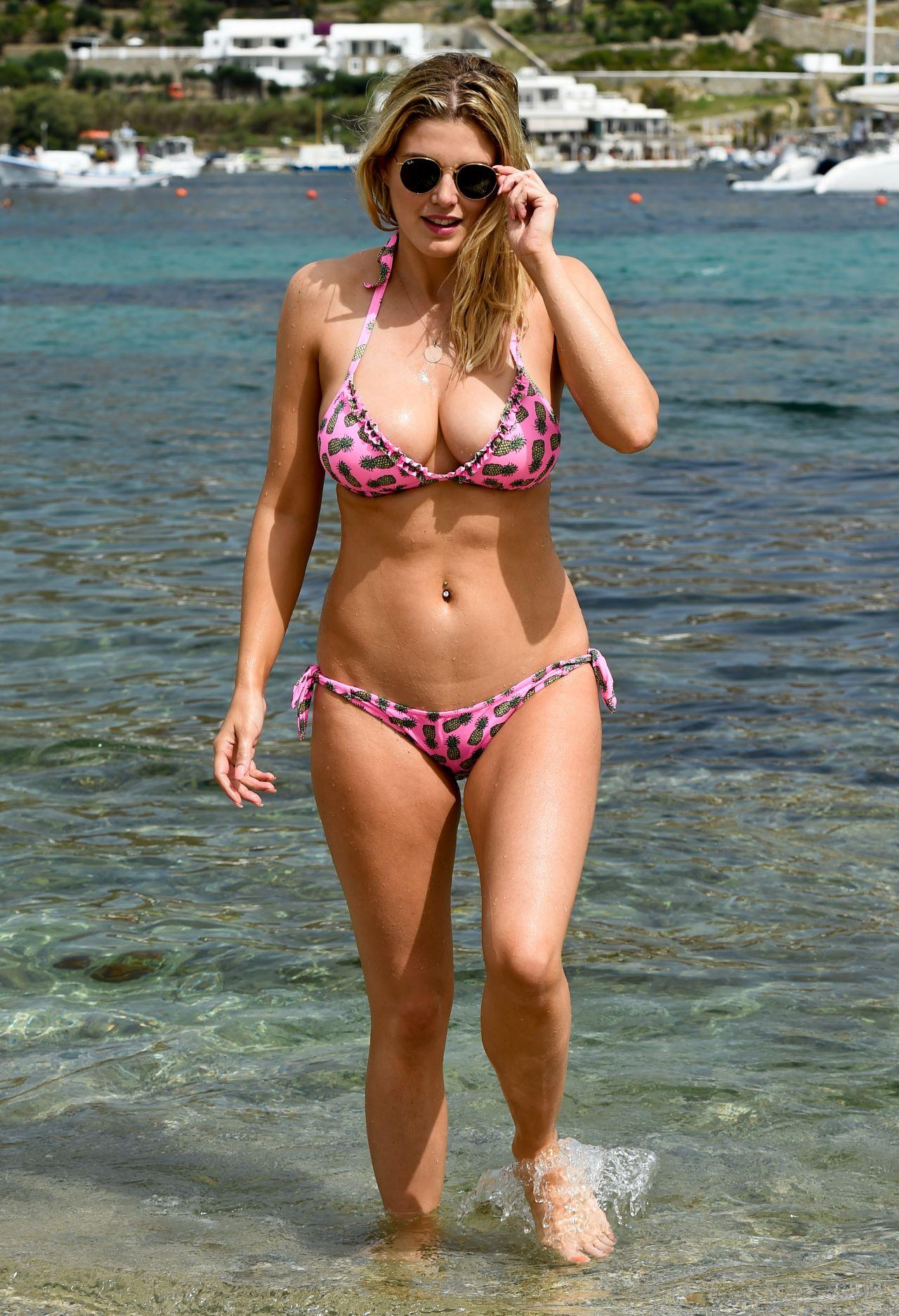 ashley-james-hot-in-bikini-having-fun-on