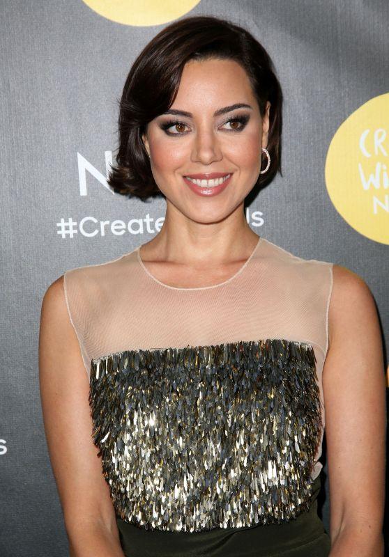 Aubrey Plaza – Latino Media Awards and Gala in Los Angeles 6/25/2016