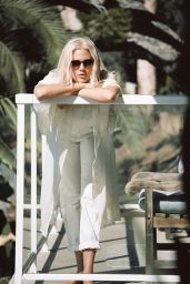 Becca Hiller - D'Blanc Eyewear Spring/Summer 2016 Campaign