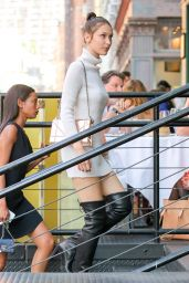 Bella Hadid is Looking All Stylish - Out in New York City 6/29/2016