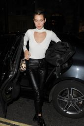 Bella Hadid Night Out Style - London, England 6/1/2016
