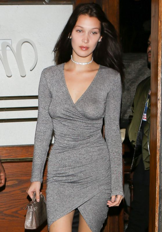 Bella Hadid - Out in West Hollywood 6/17/2016