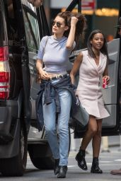 Bella Hadid - Photoshoot in New York city 6/29/2016