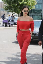 Bella Hadid Street Style - Out in London, UK 6/26/2016