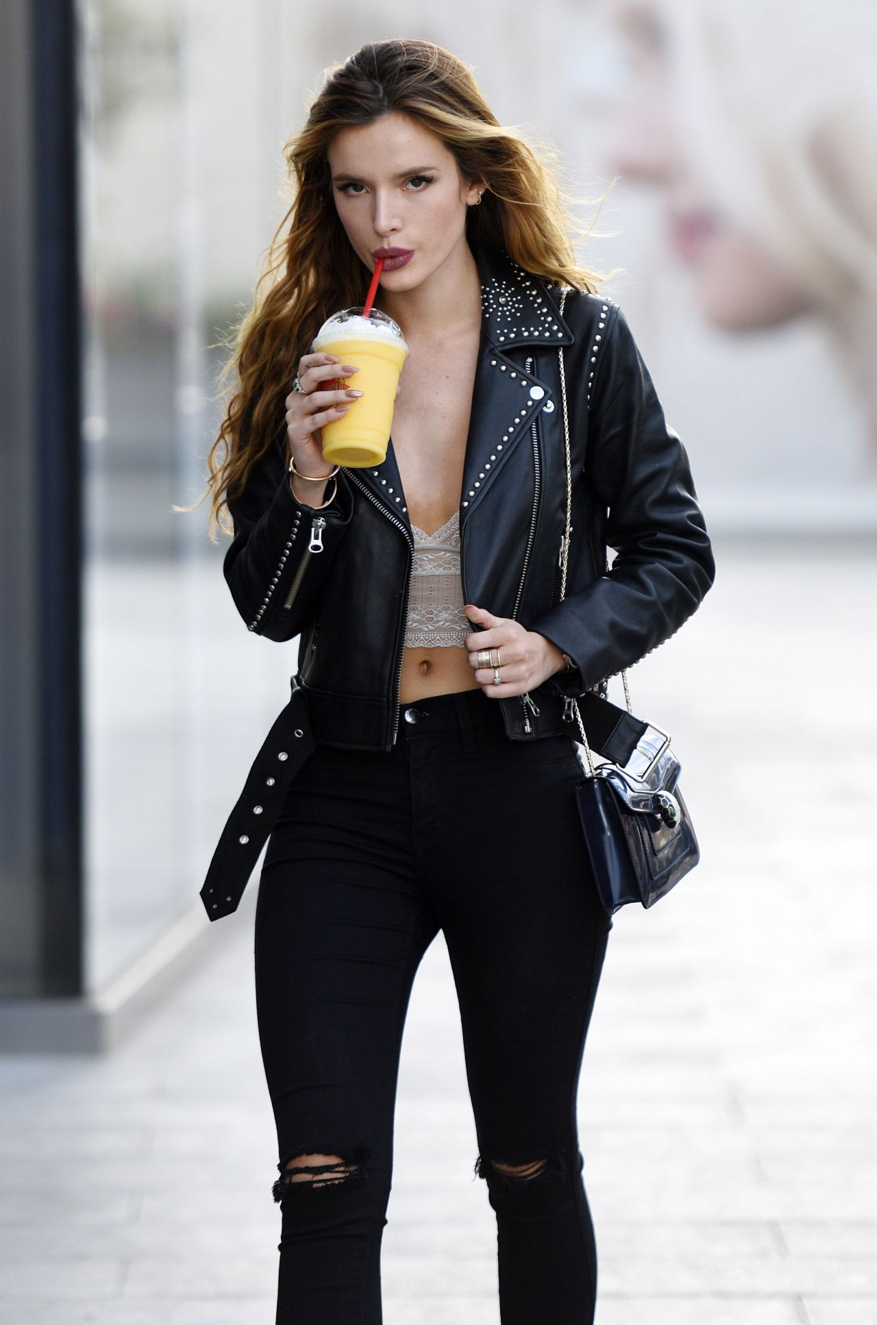 Bella Thorne Out In Los Angeles 6 14 2016