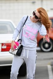 Bella Thorne - Outside a Hair Salon in Beverly Hills 6/18/2016