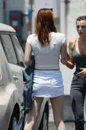 Bella Thorne Street Style - Leaving Her Office in Los Angeles, June 2016