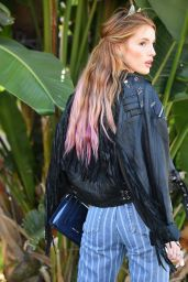 Bella Thorne Urban Style - Out About in Beverly Hills 6/26/2016