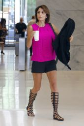 Bethenny Frankel - Leaving Sirius Radio Building in Midtown, New York 6/15/2016