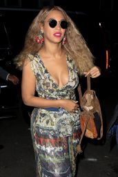 Beyonce Looks Boho Chic - Out in NYC 6/17/2016