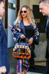 Beyonce Urban Outfit - Leaving Her Hotel in New York City 6/14/2016