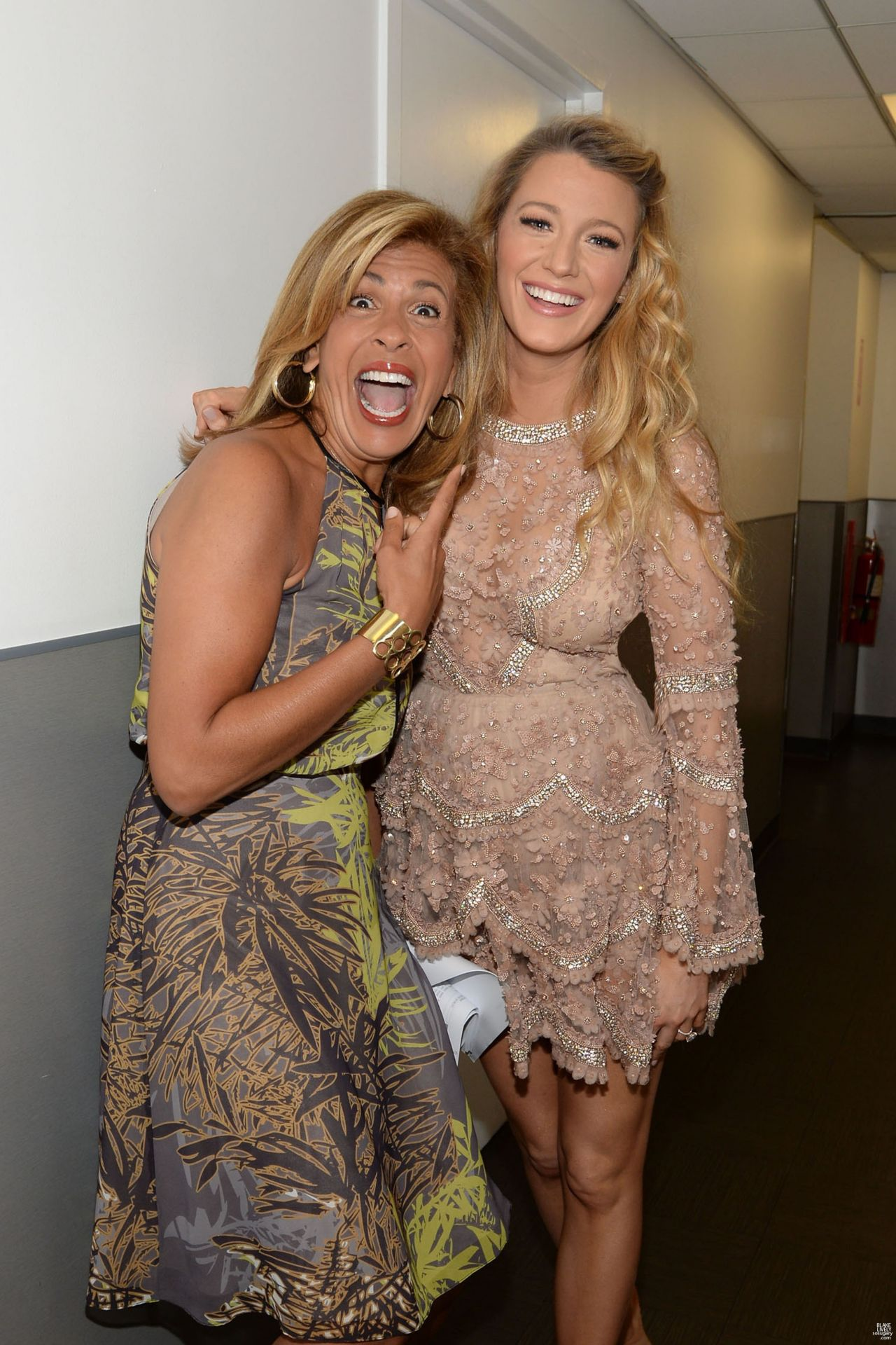 Blake Lively - Backstage at The Today Show in New York ...