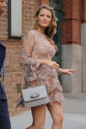 Blake Lively is Stylish - Leaving Her Hotel in New York City 6/20/2016
