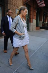 Blake Lively Style - Leaving Her hotel in New York City, NY 6/21/2016