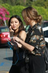 Brenda Song - Out in Studio City 6/24/2016