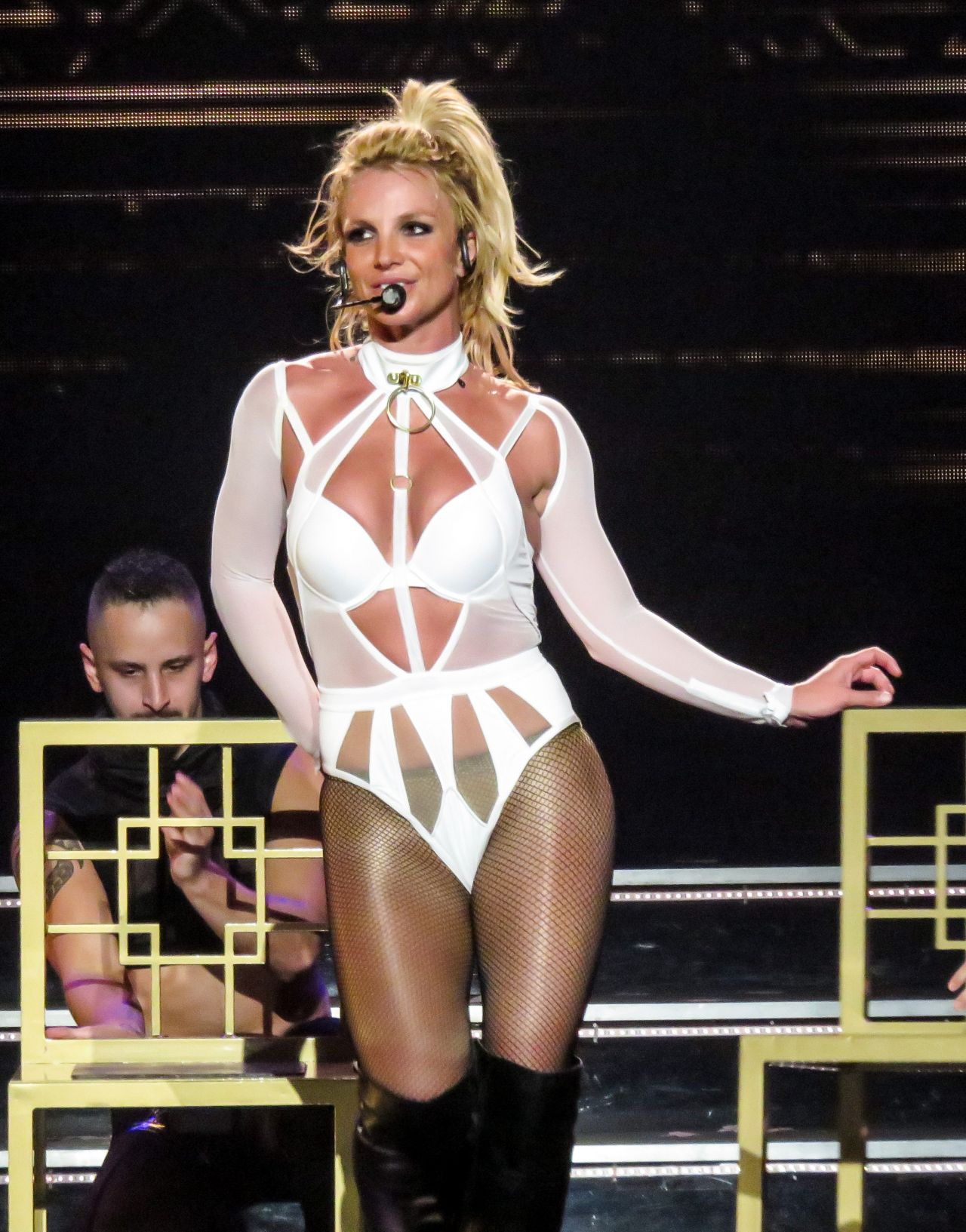 Britney Spears - Performs on Stage For Her 'Piece Of Me' Show in Las Vegas  6/17/2016 • CelebMafia