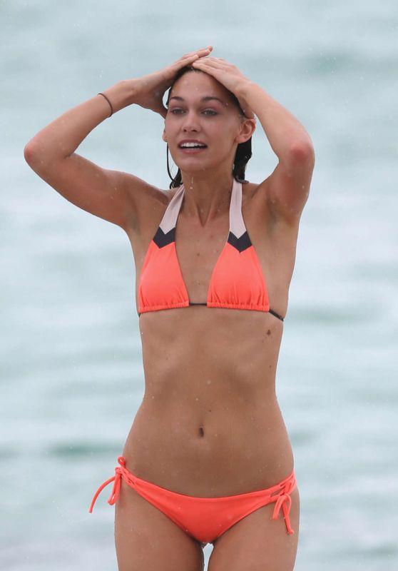 Brittany Gonzales Bikini Candids - Miami Beach 6/13/2016