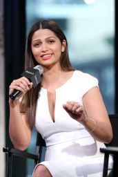 Camila Alves - AOL Build Speaker Series in New York City 6/13/2016