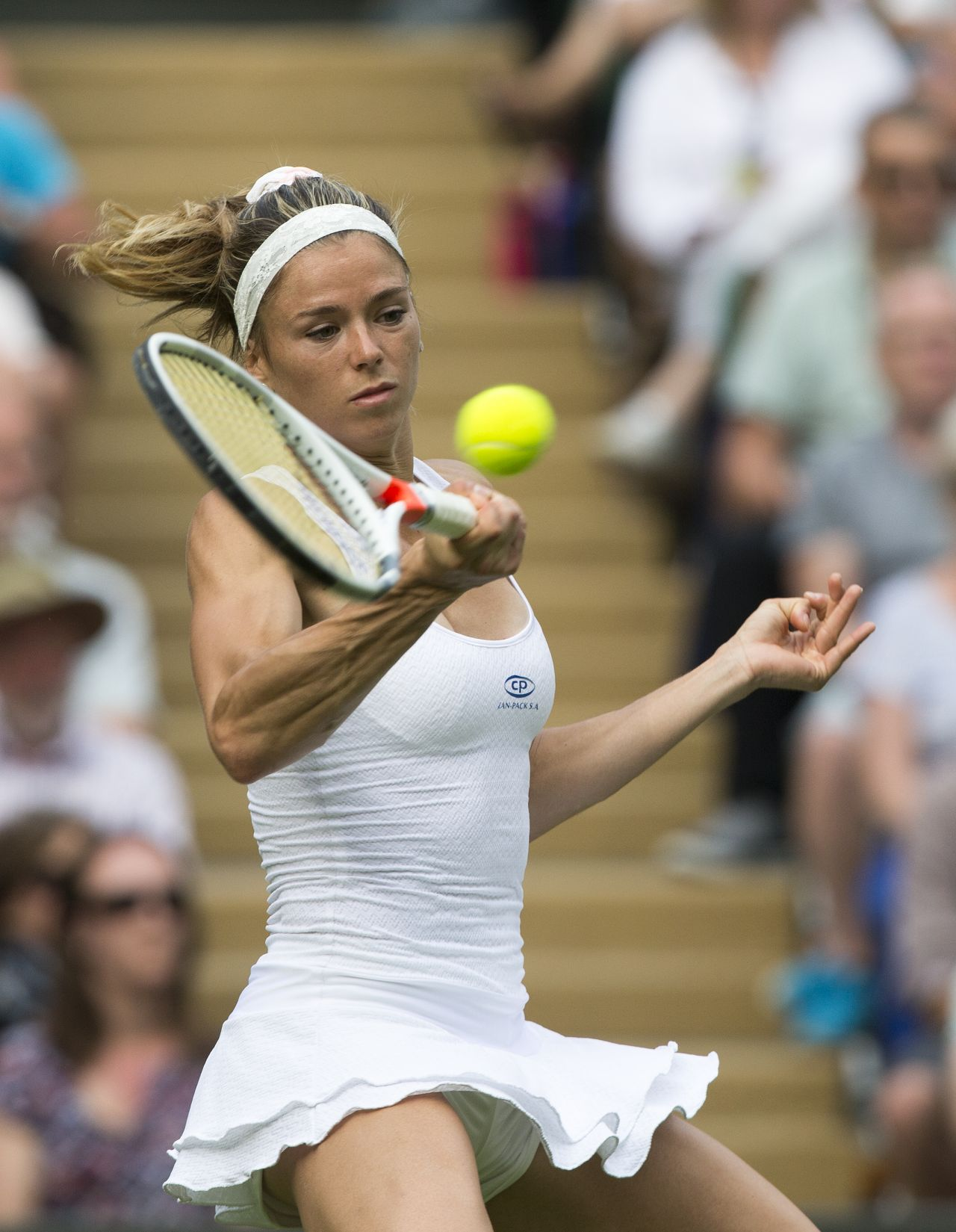Camila Giorgi Wimbledon Tennis Championships 2016 1st
