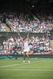 Camila Giorgi – Wimbledon Tennis Championships 2016 – 1st Round 6/27/2016