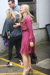Caprice - Outside ITV Studios in London 6/13/2016