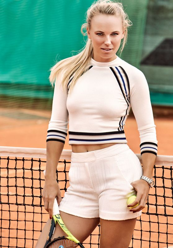 Caroline Wozniacki - Photoshoot for Esquire Magazine June/July 2016