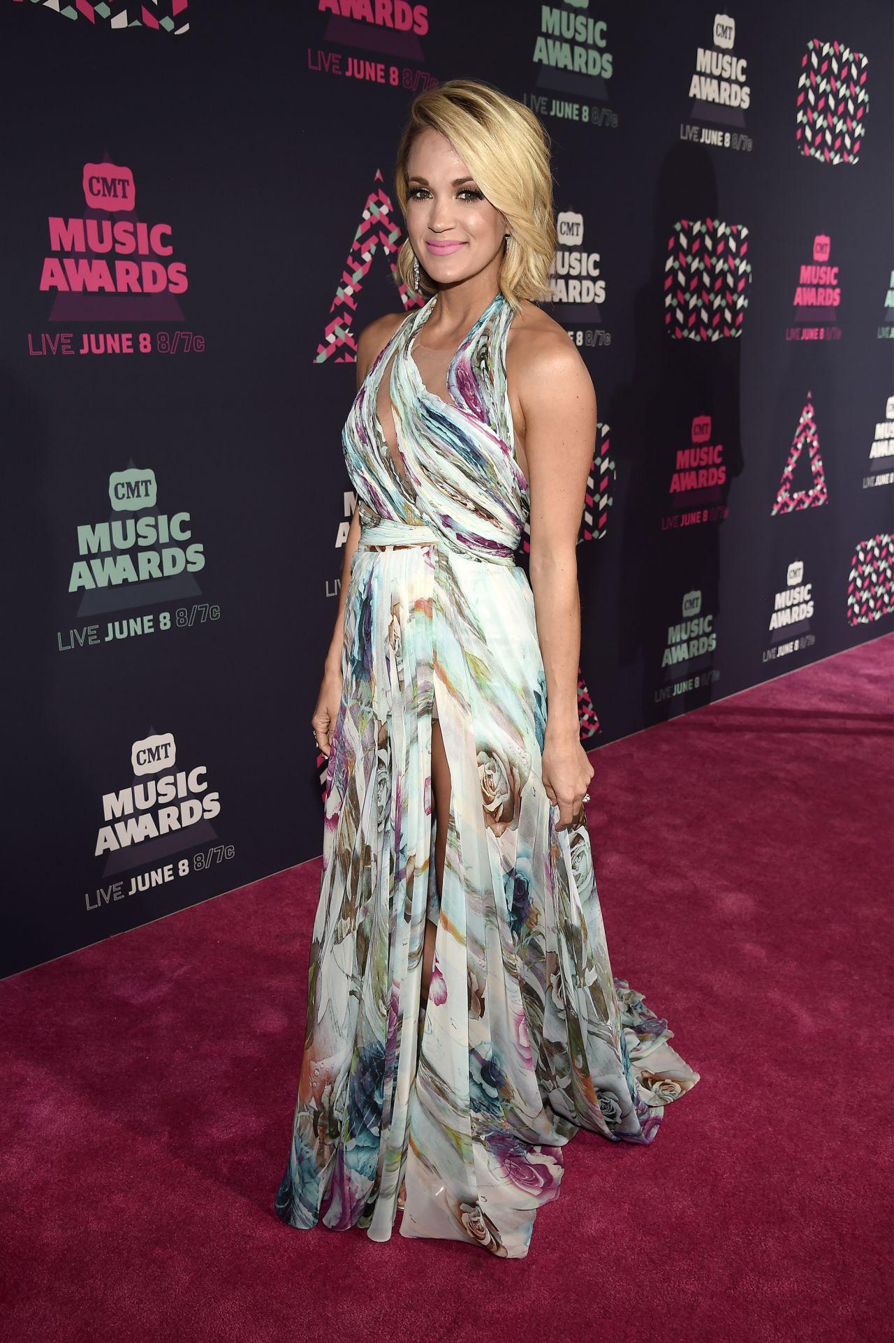 Carrie Underwood 2016 Cmt Music Awards In Nashville