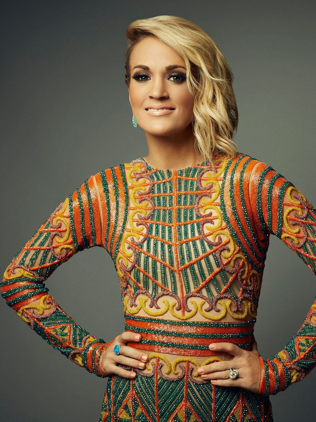 Carrie Underwood Photoshoot For 2016 American Country