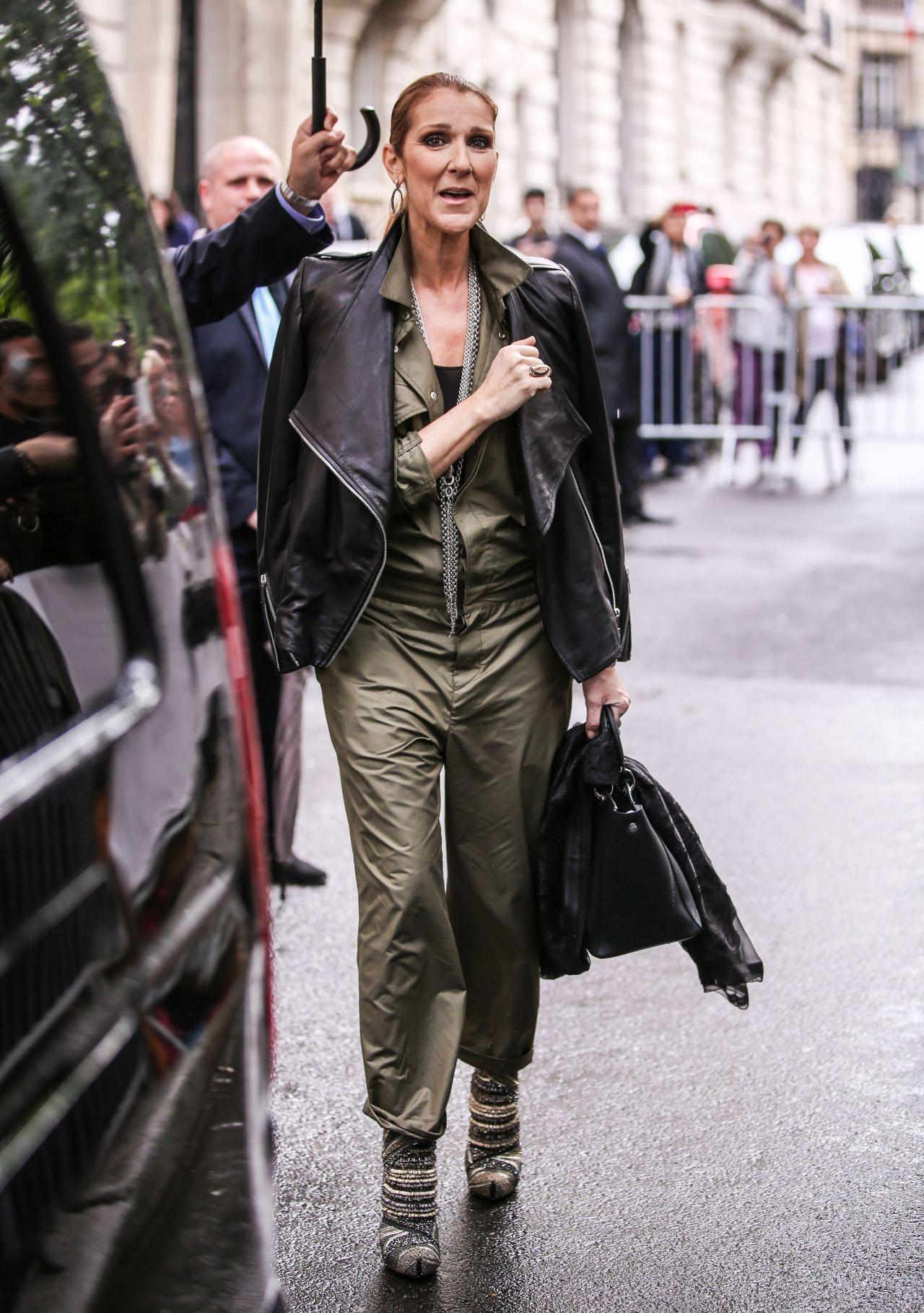 Celine Dion Meets Some Fans In Paris 6 18 2016