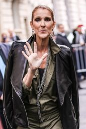 Celine Dion - Meets Some Fans in Paris 6/18/2016