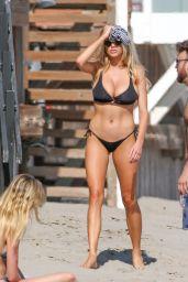 Charlotte Mckinney  Hot in a Bikini - Beach in Malibu 6/18/2016