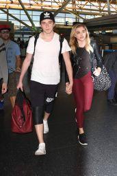 Chloë Grace Moretz at JFK Airport in New York 6/29/2016